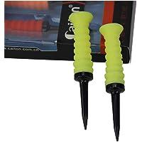 XiuFen 3pcs Golf Tee Outdoor Elastic Driving Range Mini Practical Training Mixed Size Practice Mat Sport Rubber 83x47mm