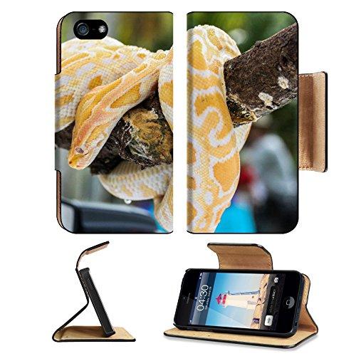 Liili Premium Apple iPhone 5 iphone 5S Flip Pu Leather Wallet Case iPhone5 IMAGE ID 32084028 snake close - Bear Descending