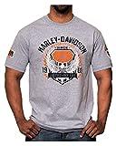 Harley-Davidson Men's Epic Winged Eagle Short Sleeve T-Shirt, Athletic Heather
