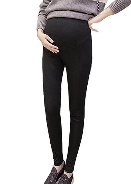 2018 nuevas mujeres embarazadas Modal Cotton Leggings Pants, cintura cómoda ajustable pantalones de maternidad