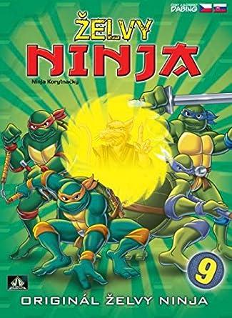 Zelvy Ninja - 1. serie DVD 9 Teenage Mutant Ninja Turtles ...