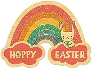 product image for Night Owl Paper Goods Real Wood Easter Card
