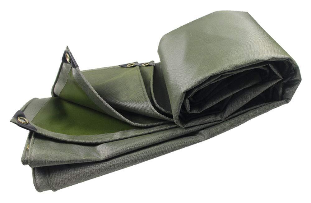防水ガーデニング釣りに適したターポリンヘビーデューティ、4×3Mタープ、釣り用ハンモックレインフライテントタープフットプリントキャンプ用シェルター地面布、マルチサイズオプション、グリーン (サイズ さいず : 4 * 6M) 4*6M  B07HRHJKVV