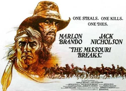 Amazon.com: The Missouri Breaks Movie Poster (30 x 40 Inches ...