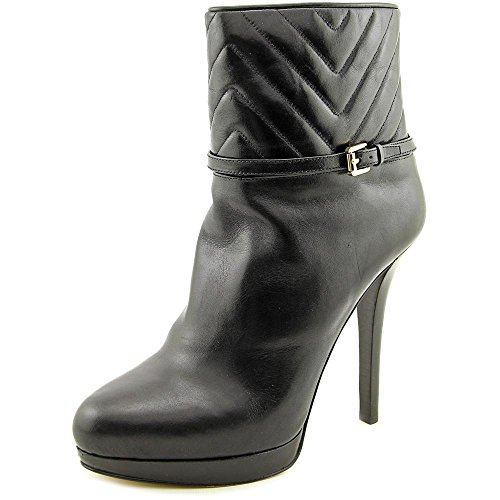 Michael Michael Kors Avery Leather Boots, Black, Size 9.0
