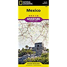National Geographic Adventure Map Mexico