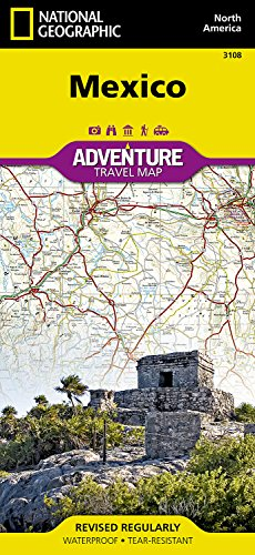 Mexico (National Geographic Adventure Map) [National Geographic Maps - Adventure] (Tapa Dura)