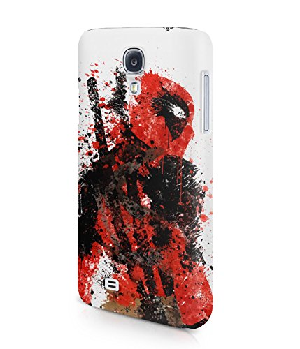 Deadpool Splatter Superhero Comics Plastic Snap-On Case Cover Shell For Samsung Galaxy S4
