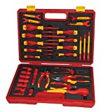 1000v insulated tool sets - BOOHER 0200408 30-Piece 1000V VDE Insulated Tools Set