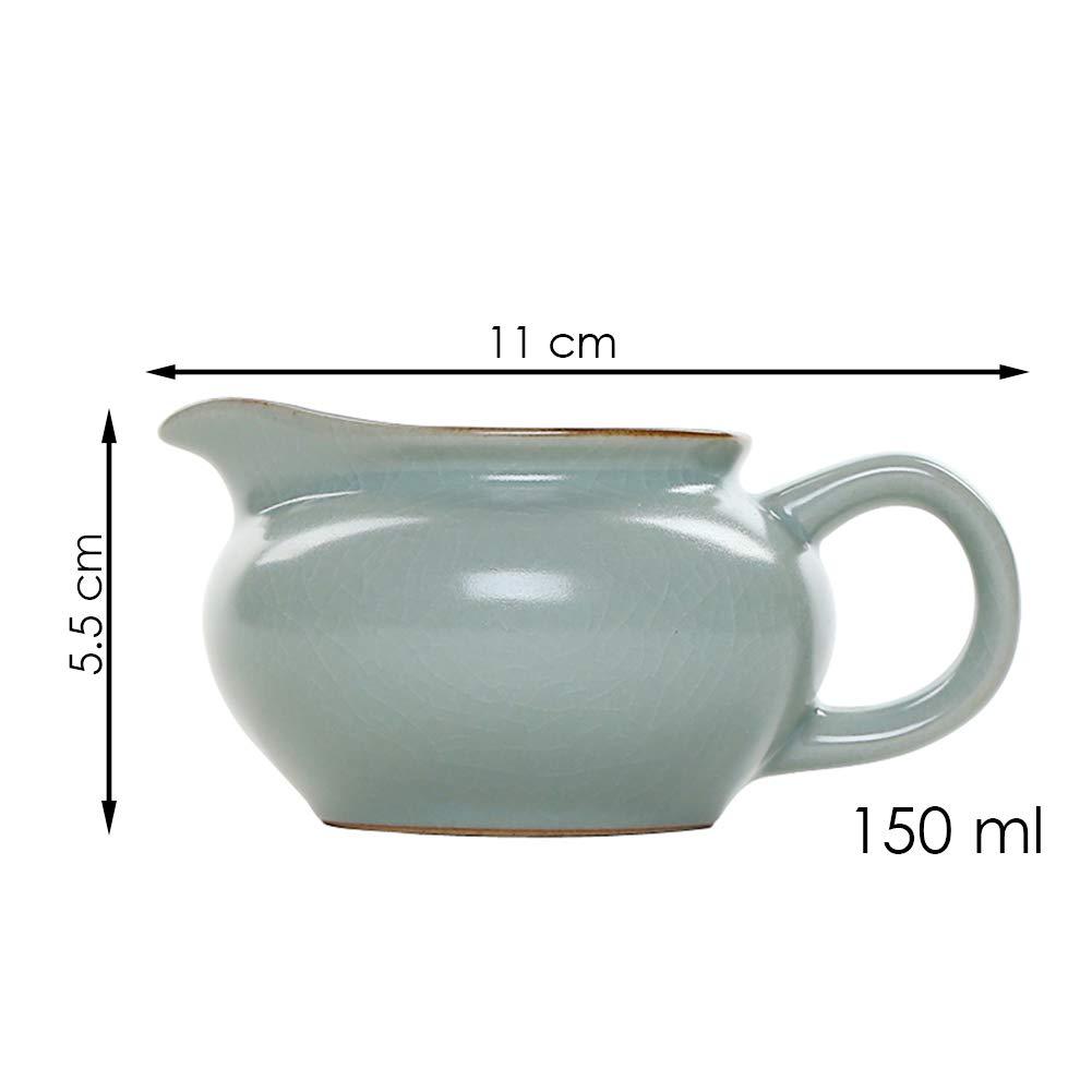 Jarra de cerámica japonesa para leche o crema, de 5 onzas, con asa ...