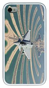 IMARTCASE iPhone 4S Case, Eurofighter Typhoon Royal Air Force Case for Apple iPhone 4S/5 TPU - White by lolosakes by lolosakes