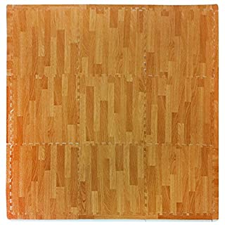 Tadpoles Natural Wood Grain Playmat Set