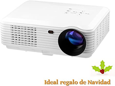 Mileagea LED LCD Full HD Proyector Multimedia 1280X800 2000 ...