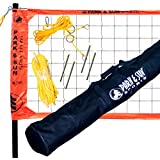 Park & Sun Sports Portable Outdoor Volleyball Net System: Professional Spectrum 2000, Blue
