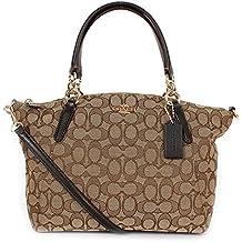 Coach Signature Small Kelsey Satchel Shoulder Bag Handbag