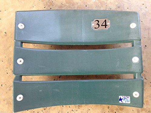 TEXAS RANGERS #34 Seatback Nolan Ryan BALLPARK ARLINGTON Stadium Chair baseball