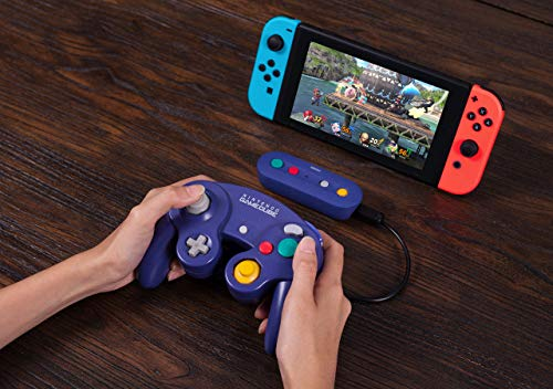 51gpHieQFdL - 8Bitdo Gbros. Wireless Adapter for Nintendo Switch (Works with Wired GameCube & Classic Edition Controllers) - Nintendo Switch