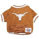 NCAA Dog Jersey, Small, University of Texas Longhorns