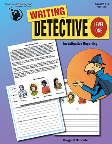 Writing Detective Level 1 Investigative Reporting -