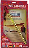 Waltons English Penny Whistle Value Pack - Key of D - Fully Diagrammed Instructions Included - For Beginners