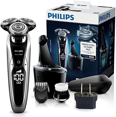 Philips Máquina de afeitar eléctrica mojada y seca con el sistema smartclean Serie 9000: Amazon.es: Salud y cuidado personal