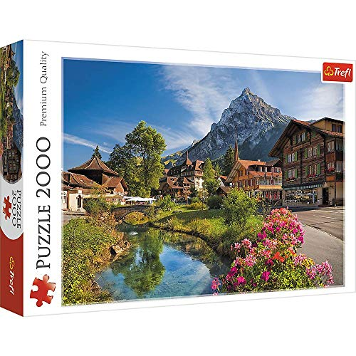 Trefl 2000 Piece Jigsaw Puzzle, Alps in The Summer, Multicolor