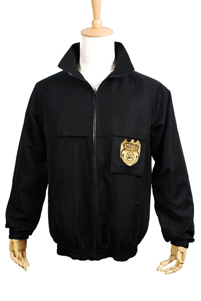 Fancy Style FancyStyle NCIS Cosplay Staff Costume Jacket Coat Uniform Black Male L by Fancystyle