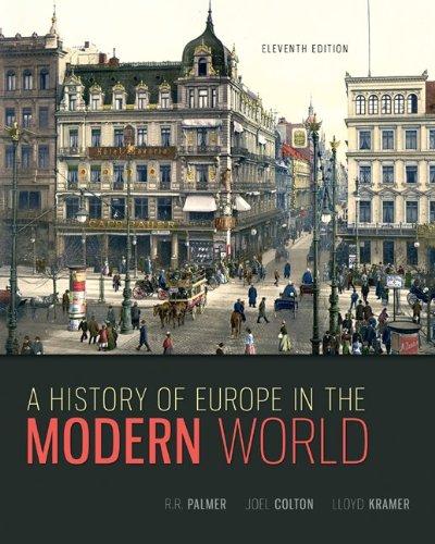 """A History of Europe in the Modern World"" av R. R. Palmer"