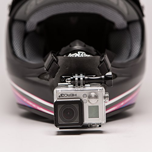 Motorcycle Cam Helmet - Full Face Helmet Chin Mount for GoPro