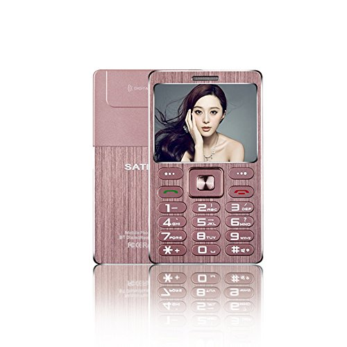 SATREND A10 Card Small Mini Metal Cell Phone Best For Kid...