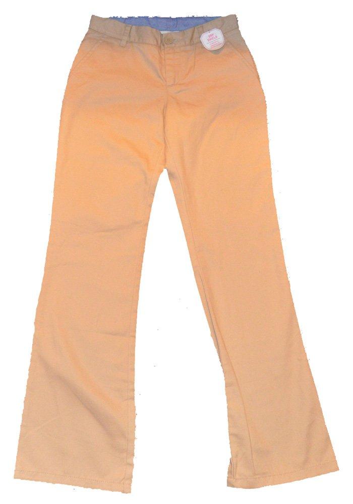 Gap Kids Girls Khaki Boot Cut Pants 14 Slim
