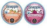 Snapple Iced Tea K-Cups Variety Sampler- Peach, & Raspberry (88 Count)