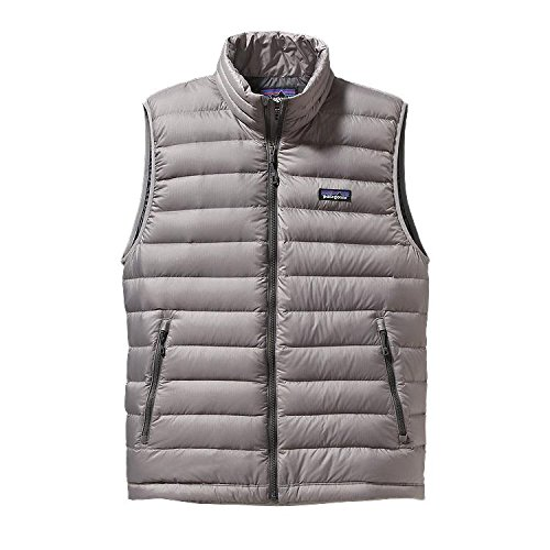 Patagonia Grey Down Feather Gilet Homme r6wrICqgxZ