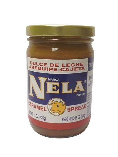 Amazon.com : Nela Dulce De Leche 12 oz - Arequipe Cajeta Neia : Dessert Toppings : Grocery & Gourmet Food