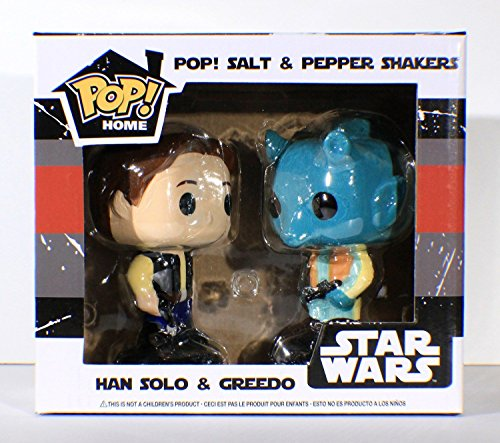 (Funko Home - Smuggler's Bounty - Han Solo and Greedo Salt and Pepper Shakers)