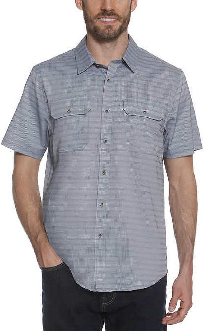 Gerry Men/'s Short Sleeve Woven Shirt