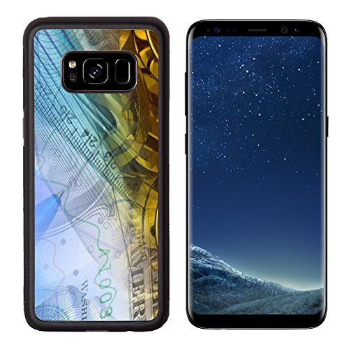 Liili Premium Samsung Galaxy S8 Aluminum Backplate Bumper Snap Case Pen ruler and buildings against the table collage IMAGE ID 9097173