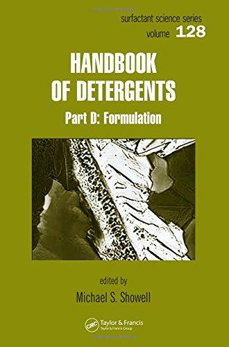Handbook Of Detergents, Part D: Formulation (Surfactant Science)