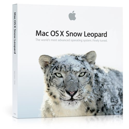 Mac OS X version 10.6.3 Snow Leopard (Mac computer with an Intel processor (Intel Apple Memory)