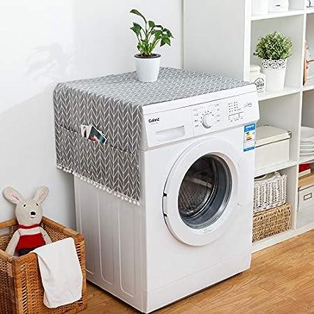 Lavadora geométrica Cubiertas Cubiertas refrigerador a prueba de ...