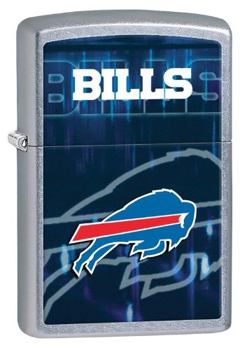 Personalized Zippo Lighter NFL Buffalo Bills - Free Laser Engraving