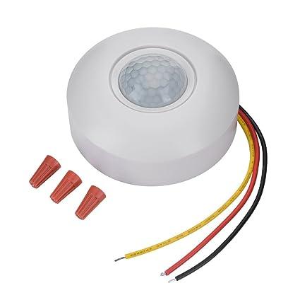 Zerone IR Infrarrojos Sensor de Movimiento Interruptor 360 Grados PIR Interruptor de Movimiento Sensor Plafón de