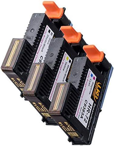 LKB 1 Set HP72 Cabezales de impresión remanufacturados C9380A ...