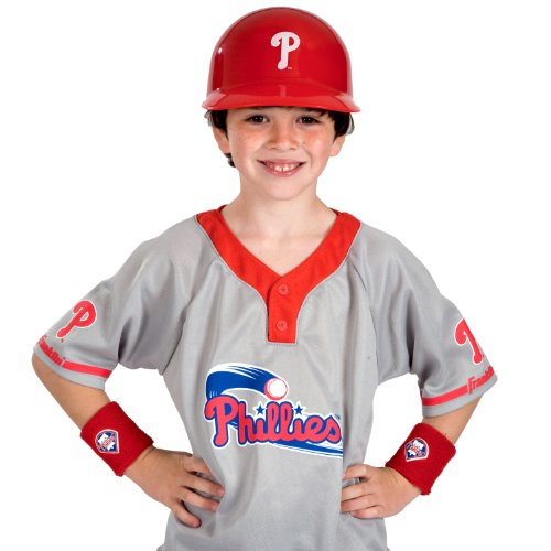 Franklin Sports MLB Philadelphia Phillies Youth Team Uniform Set