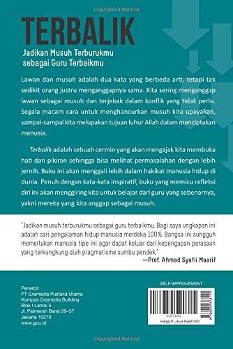 Terbalik: Jadikan musuh terburukmu sebagai guru (Indonesian