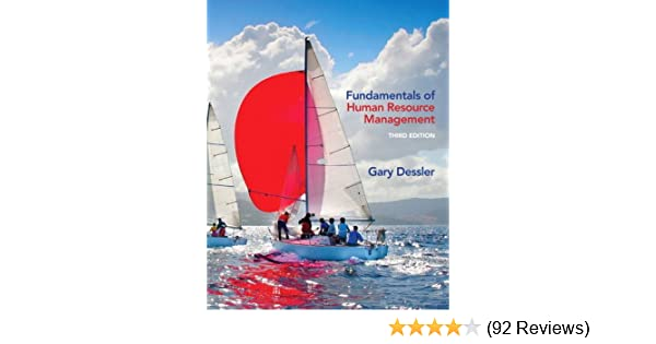 fundamentals of human resource management (3rd editionfundamentals of human resource management (3rd edition) 9780132994903 human resources books @ amazon com