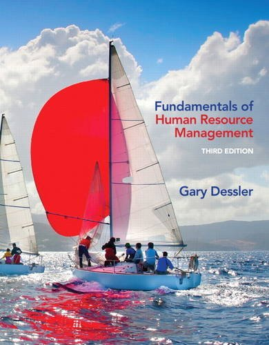 Fundamentals of Human Resource Management (3rd Edition) (Fundamentals Of Human Resource Management 3rd Edition)