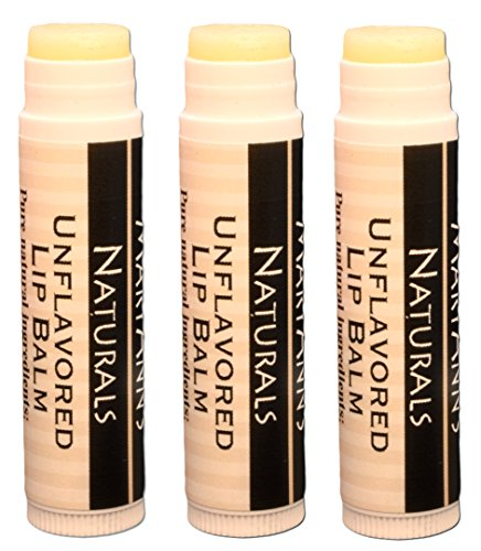 (Mary Ann's Naturals Organic Handcrafted Lip Balm 3 Pack -)