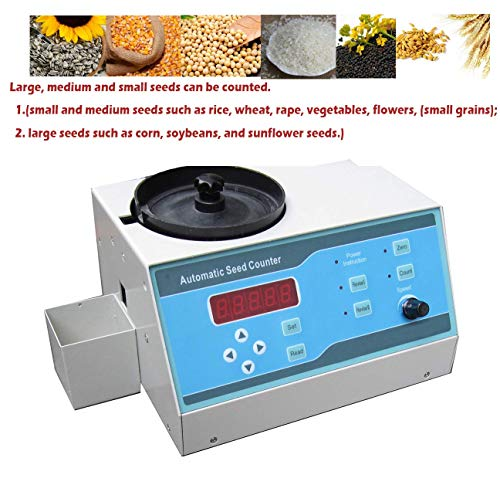 VTSYIQI Automatic Seeds Counter Machine Automatic Counting Instrument Sly-C with Adjustable Speed for Various Shapes Seeds Large Medium and Small Seeds LED Display by VTSYIQI (Image #4)