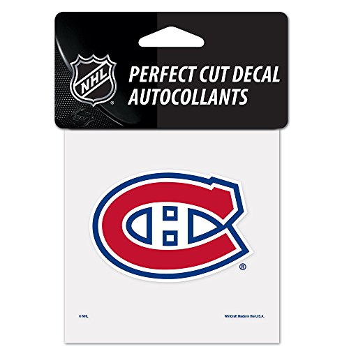 WinCraft NHL Montreal Canadiens Perfect Cut Color Decal, 4